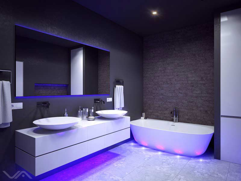 Best Bathroom Color Ideas And Trends 2019 100 Paint Tile Design