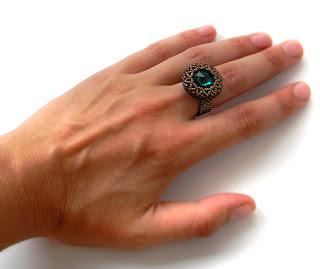 купить украшения сваровски swarovski ring beadwork anabel 27