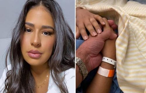 Após revelar doença no útero, Simone Mendes é internada