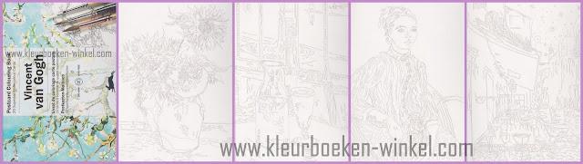 kleurboek PK 19 vincent van gogh
