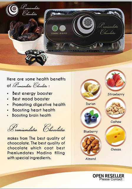 Kurma Coklat Premium Dates