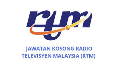 Jawatan Kosong RTM 2019 Radio Televisyen Malaysia