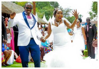 Prophetess Monica Nyambura with her husband Samuel Kariuki. FILE