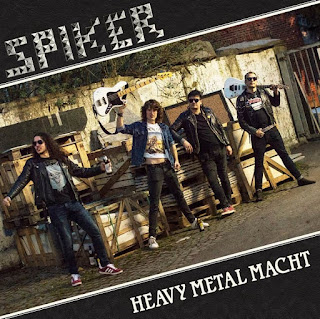 "Το ep των Spiker ""Heavy Metal Macht"""