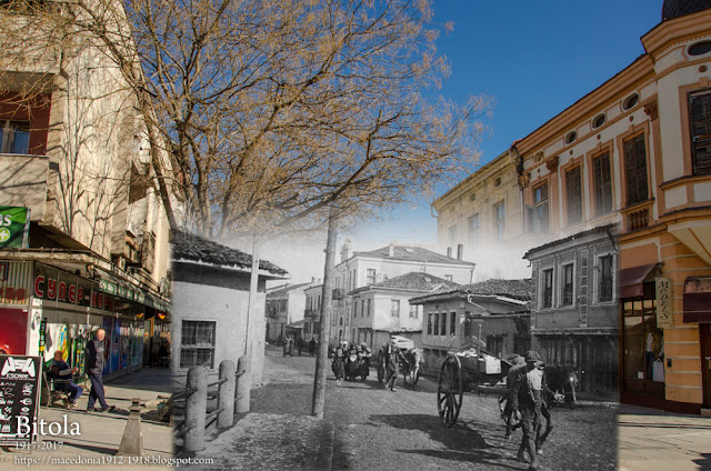 "Victims of Gas bombs - Sirok Sokak street ""Kamen Most"" (Stone Bridge)  - Bitola 1917 - 2017"