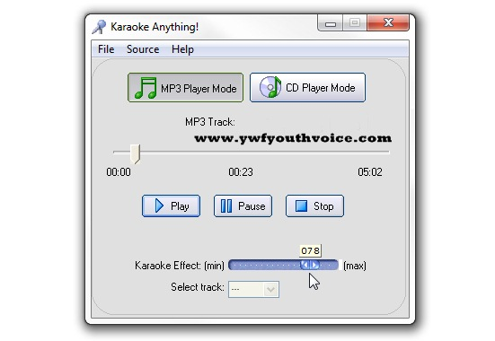 How to create a karaoke track from mp3 using audacity