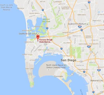 Famosa Slough area map
