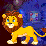 Games4king Slack Lion Rescue Walkthrough