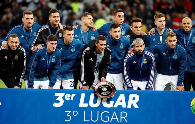 Messi é expulso, mas Argentina vence o Chile e fica em 3º na Copa América
