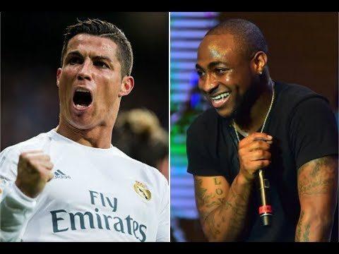 I'm Working On A Collaboration With Cristiano Ronaldo' – Davido    WATCH