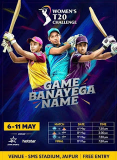 womens ipl 2019 teams name