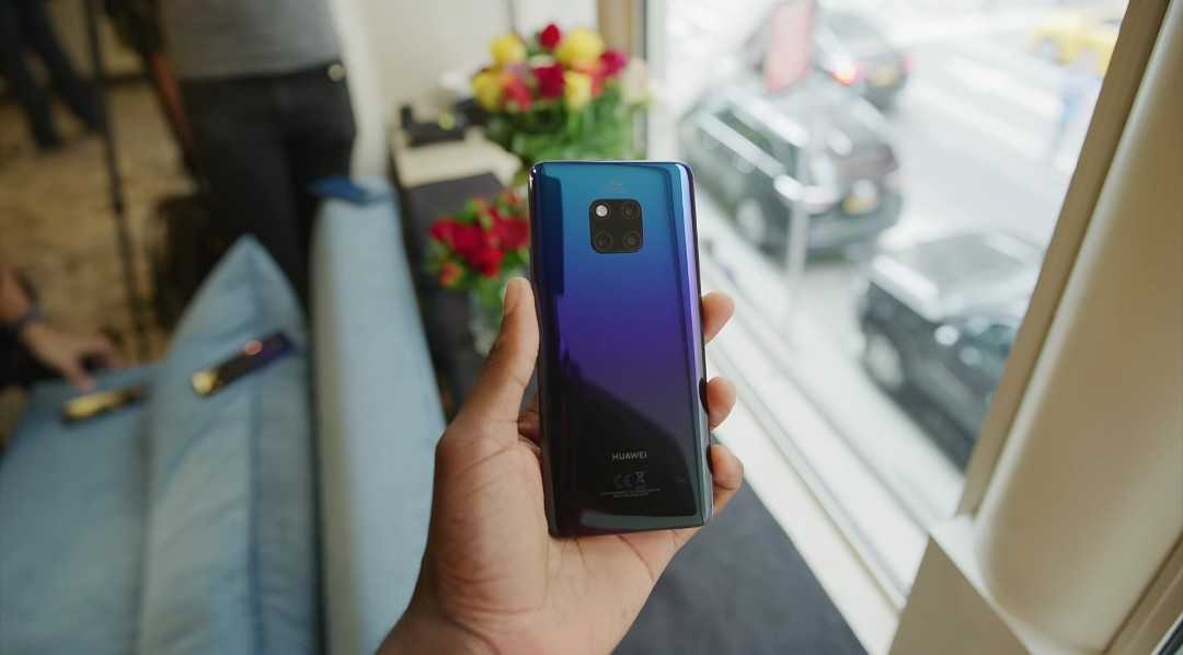 The Huawei's Mate 20 Pro Design