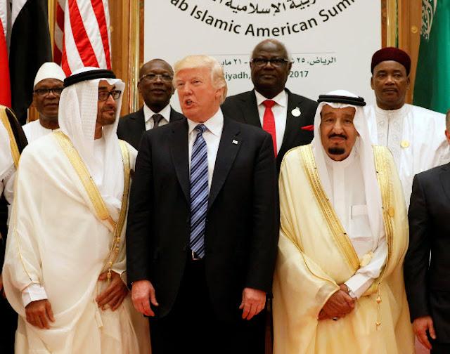 ترامب-سلمان-السعودية