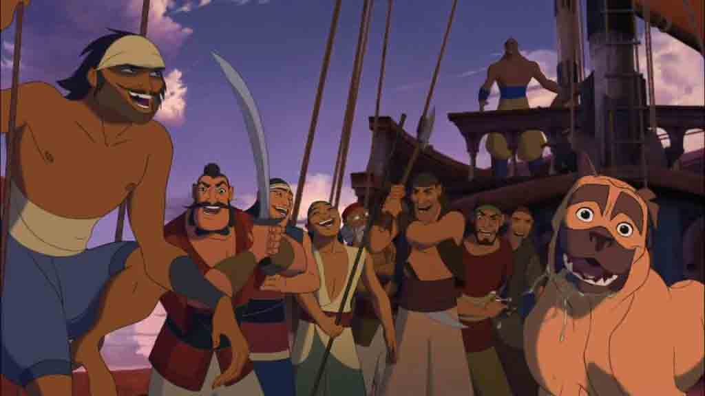 Single Resumable Download Link For Hollywood Movie Sinbad (2003) In  Dual Audio