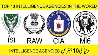 A few intelligence agencies of the world in no particular order: