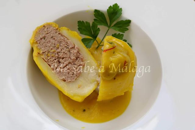 receta malagueña de patatas rellenas