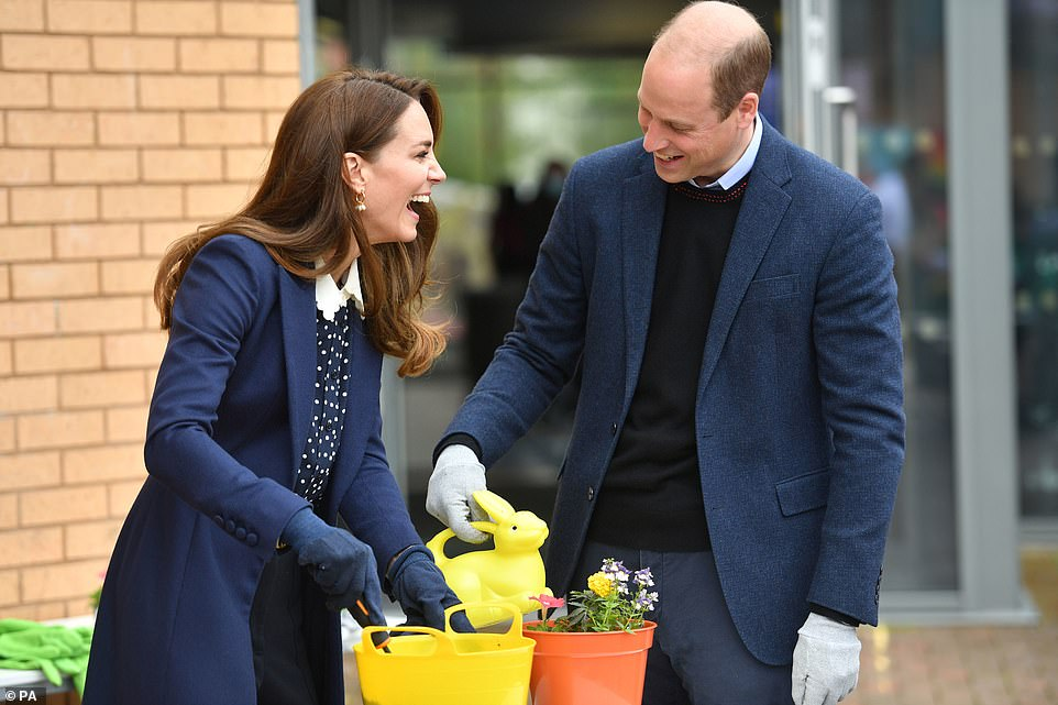 Duchess Kate and Prince William Visit The Way Youth Zone
