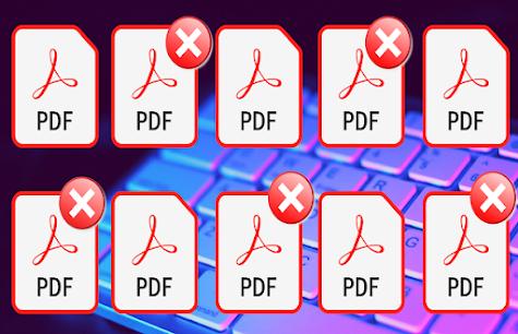 كيفية حذف صفحات معيّنة من ملف pdf