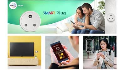 Wipro 10A smart Plug with Energy Monitoring, Suitable for Small Appliances