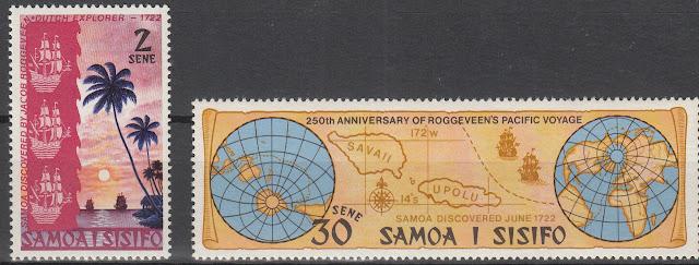 Jacob Roggeveen Samoa