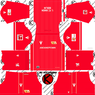 FC Union Berlin 2019/2020 Kit - Dream League Soccer Kits