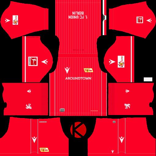 FC Union Berlin 2019/2020 Kit - Dream League Soccer Kits