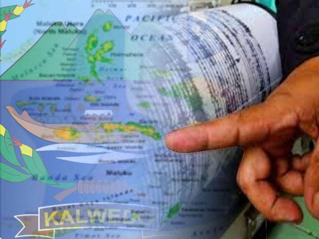 Dua Gempa Bumi Guncang Maluku Barat Daya