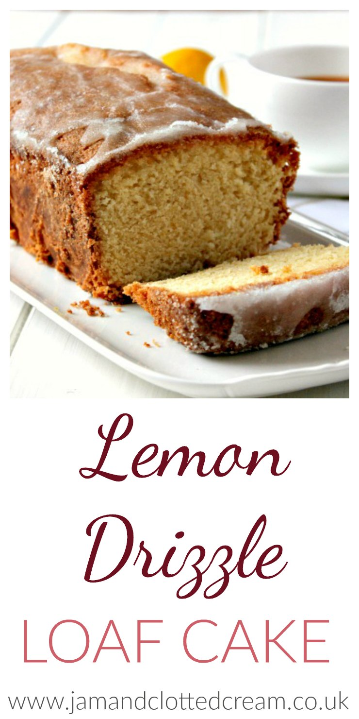how to make drizzle for lemon drizzle