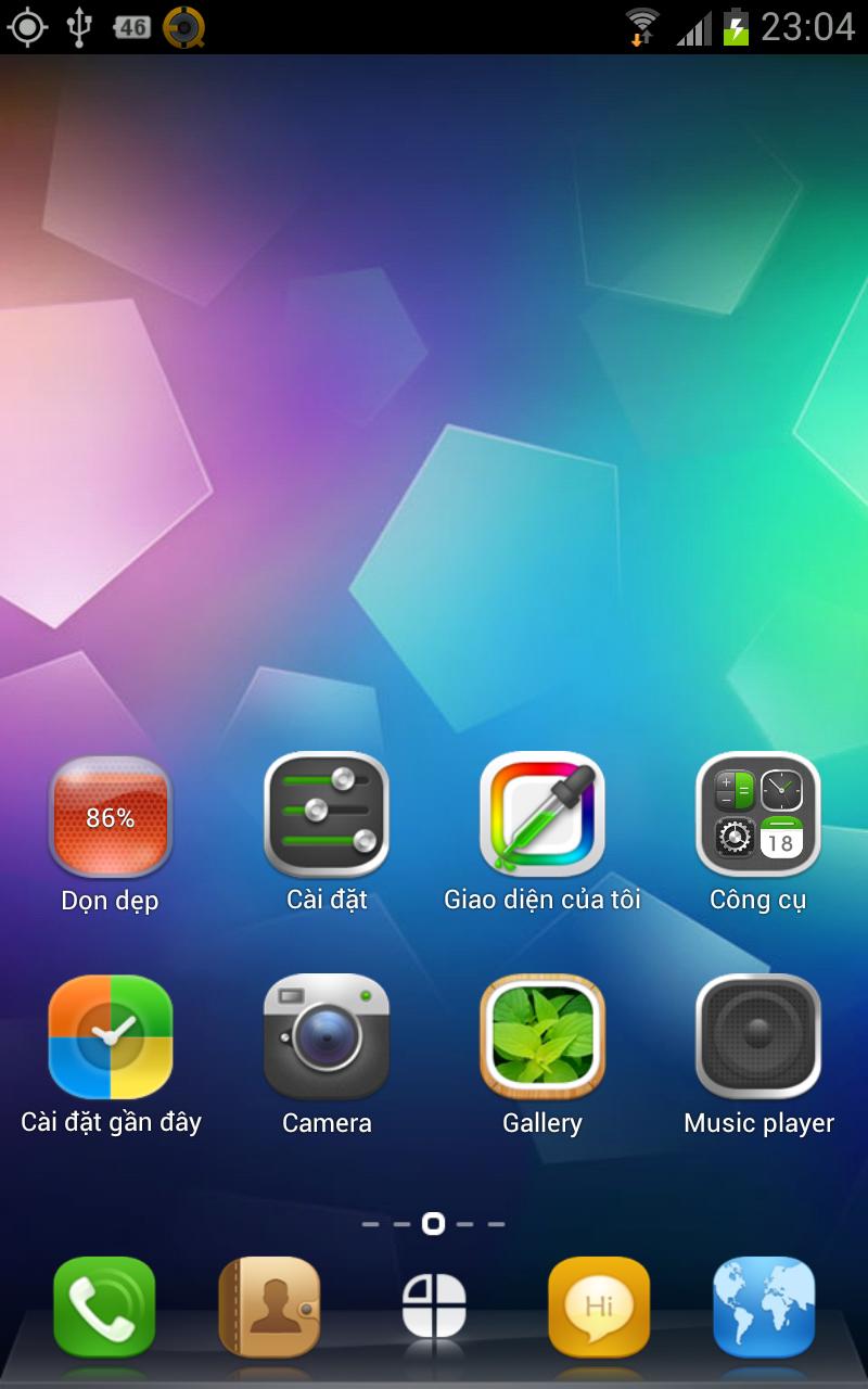 Hình Ảnh Theme đẹp cho android - 360 launcher Việt hóa