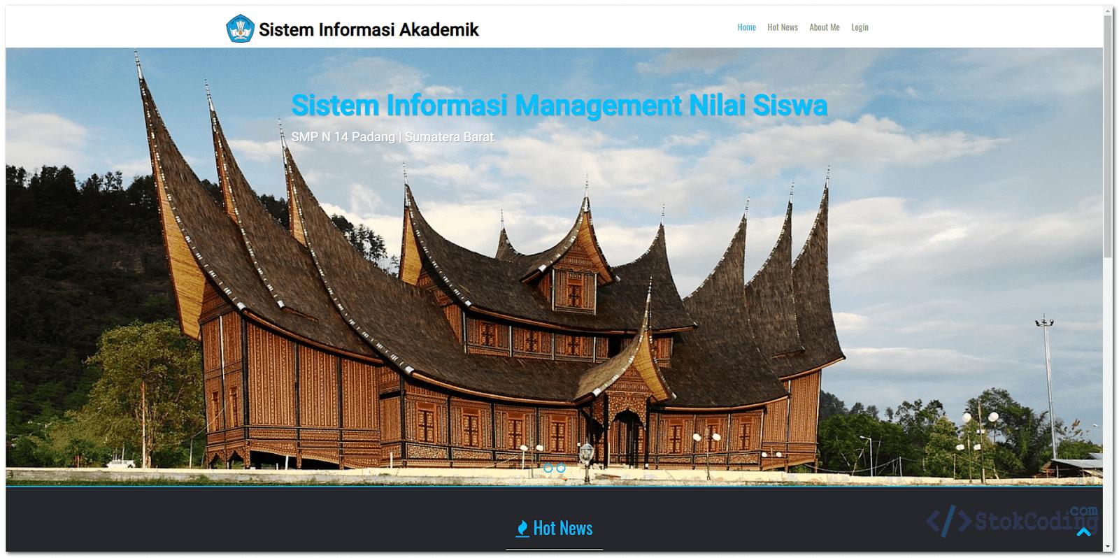 Sistem Informasi Akademik Berbasis Web (PHP)