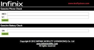 infinix-smartphone-verification-tool