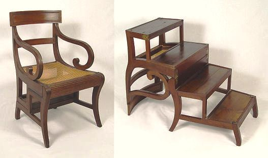 Library Chair Ladder Plans Pdf Woodworking
