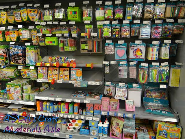 ASDA Crafts Shop, ASDA shopping experience