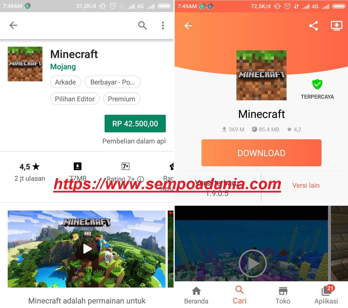 Cara Mudah Download Aplikasi Android Berbayar Jadi Gratis