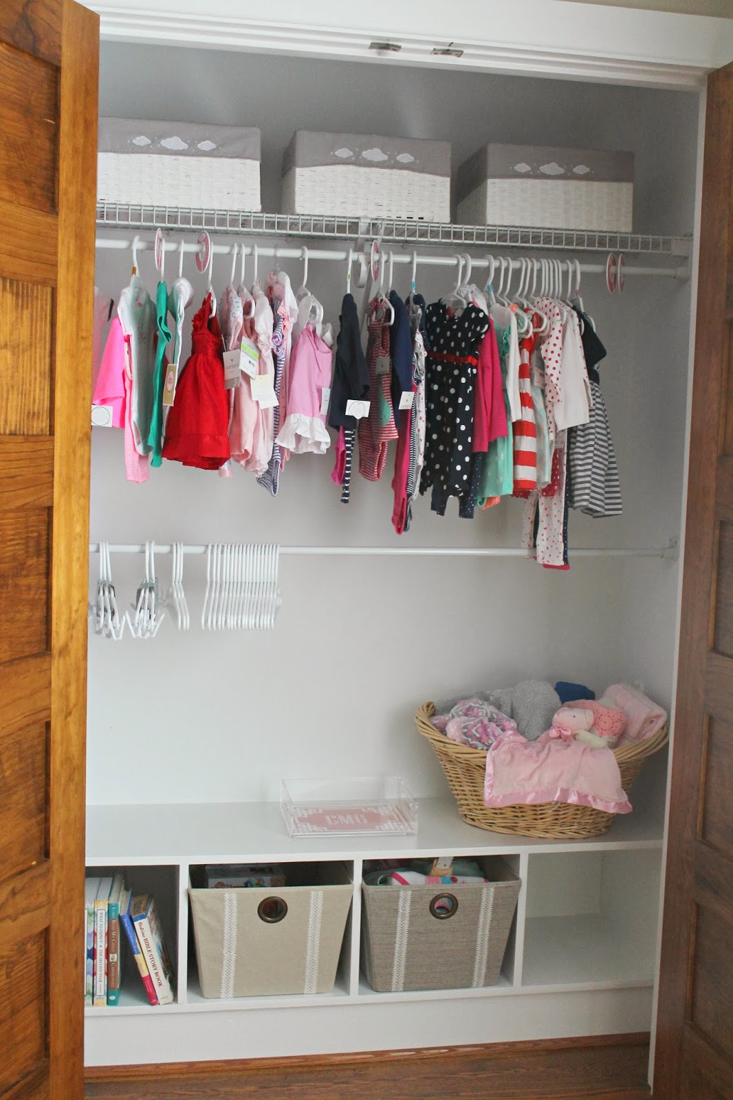 Nursery Update {Mini Closet Makeover}