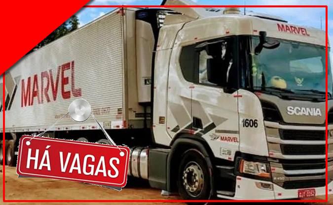 Transportadora Marvel abre processo seletivo para Motorista Truck