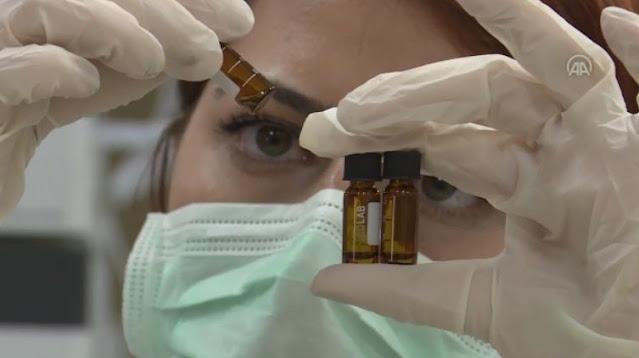 Ilmuwan Turki selesaikan fase 1 vaksin Covid-19. (Anadolu Agency)