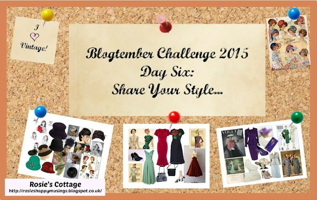 Blogtember Challenge 2015 day 6 vintage fashion