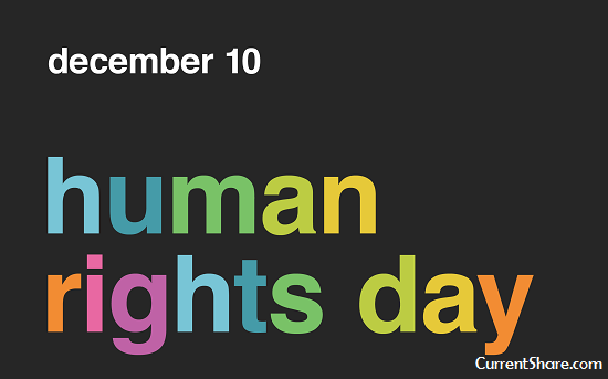 Human Rights Day on 10 December