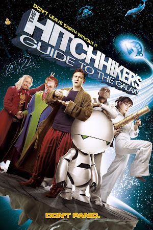 Poster Of The Hitchhiker's Guide to the Galaxy 2005 In Hindi Bluray 720P Free Download