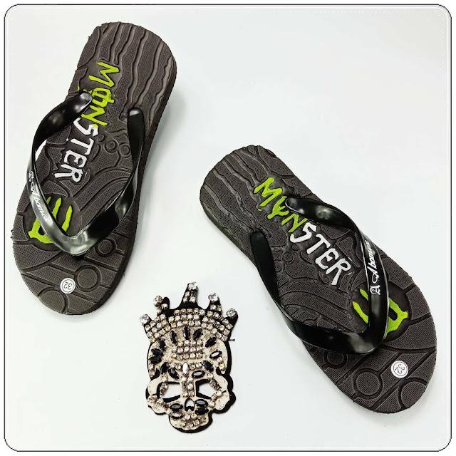 Pabrik Sandal Anak Cowo TRENDI 2020 || Sandal Monster Anak TERMURAH