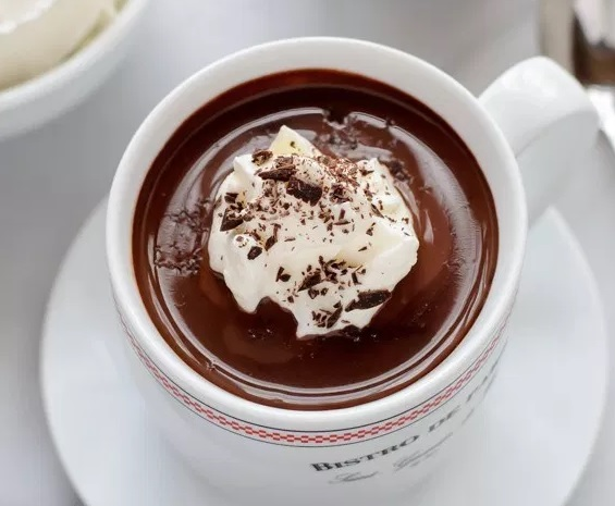 How hot chocolate Nutella works