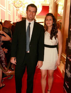 Shea Weber and wife Bailey