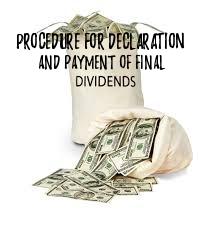 Procedure-Declaration-Payment-Final-Dividend
