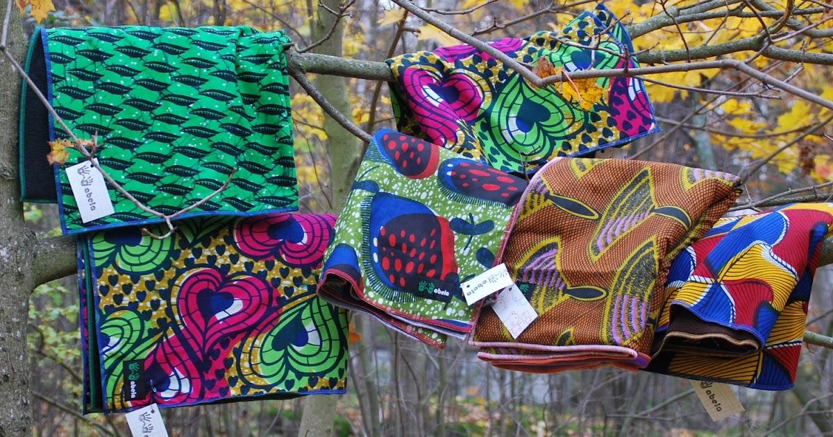Abela Abela African Print Baby Blankets