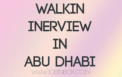 Walk-in Interview at Adyard Abu Dhabi LLC
