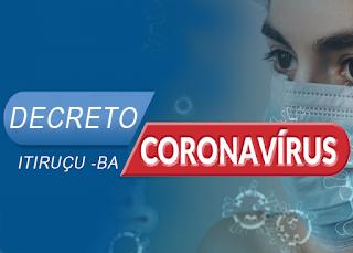 Itiruçu registra 5 casos confirmados da Covid-19 nas últimas 24hs