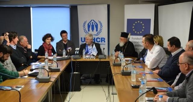 Υπογράφηκε η σύμβαση μεταξύ Δήμου Τρίπολης και Ύπατης Αρμοστείας για την υποδοχή  300 προσφύγων στην Τρίπολη (βίντεο)