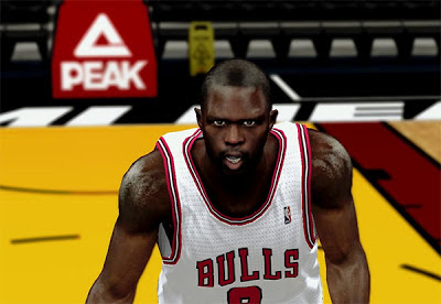 NBA 2K13 Luol Deng HD Cyberface Mods
