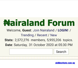 how to post on nairaland forum in 4 steps